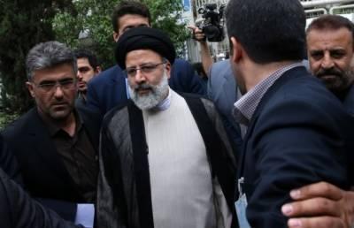 Iranian hardliner Ebrahim Raisi submits nomination paper for election