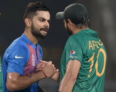 Shahid Afridi paid a legendry tribute by Virat Kohli and Indian Cricket team