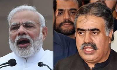 CM Balochistan Sanaullah Zehri message for India