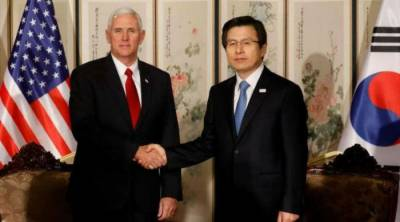 North Korea put on notice by US Vice President Mike Pence
