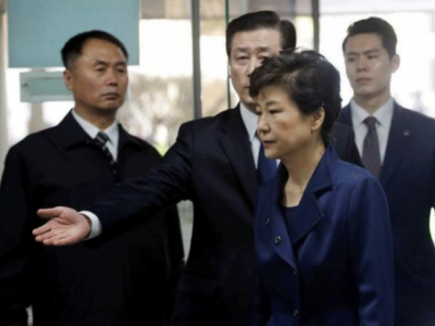 South Korea's former President charged in corruption probe