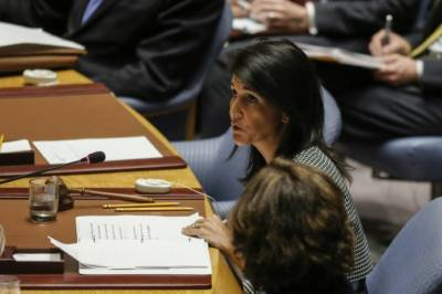 US Ambassador in UN brands Iran as 'Chief Culprit'