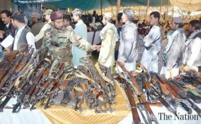 Baloch Ferraris biggest group lay down arms, join mainstream