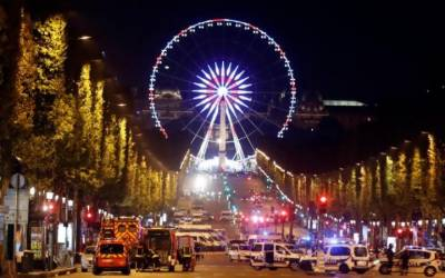 French President says Paris shooting suspected terror attack
