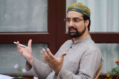 India wants to terrorise people into submission: Mirwaiz