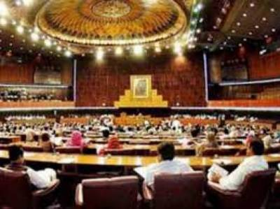 National Assembly session adjourned after scuffle by opposition
