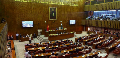 Senate session prorogued after raising anti-PM slogans by opposition