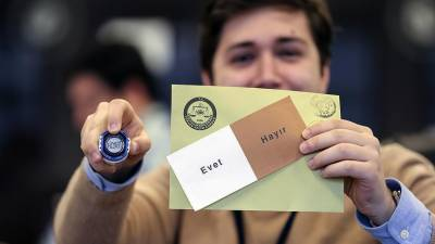 Turkey's Supreme Election Board announces official result of referendum