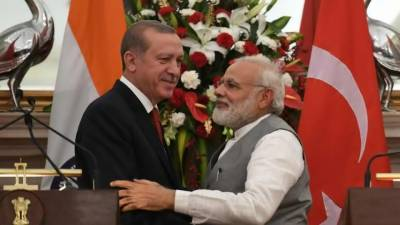 India embarrassed Tayyip Erdogan on Kashmir