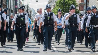 Metropolitan Police saves London from disaster