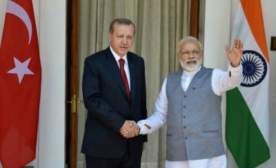Modi gives Erdogan a cold response over Kashmir