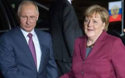 Russia-Germany inch closer as Merkel meets Putin