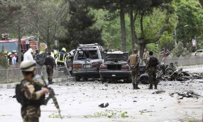 At least 8 killed, 25 injured as powerful blast hits NATO convoy in Kabul