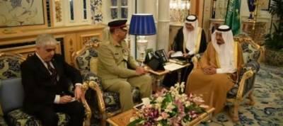 CJCSC General Zubair Mehmood calls on King Salman