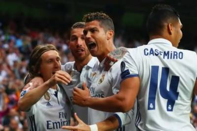 Cristiano Ronaldo dazzling hat trick takes Real Madrid to lead in Champions League