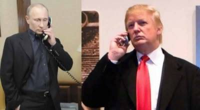Donald Trump - Vladimir Putin phone call: What went inside
