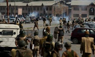 Indian troops severely torture Sopore family in Srinagar