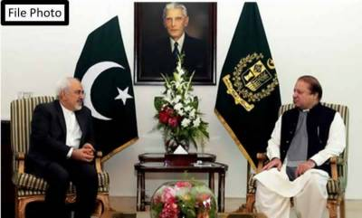 Iranian Foreign Minister Javed Zarif holds important meeting with PM Nawaz Sharif