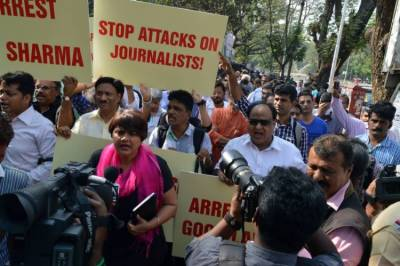Kashmiri journalists facing death threats by Indian troops: KMS