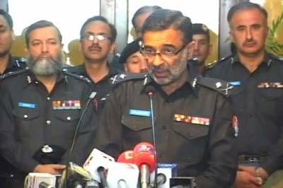 KP IGP lauds Police Jawans performing duties in border areas