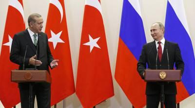 Putin, Erdogan discuss de-escalation zones in Syria