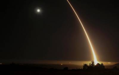 US Air Force test fires intercontinental ballistic missile