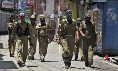 Indian forces grand offensive against protesters denounced