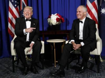Trump, Australian PM agree to patch up bilateral ties