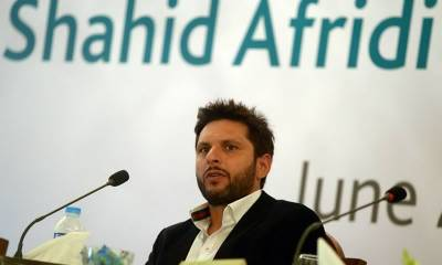 Shahid Afridi lashes out at Sindh Government
