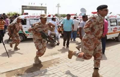 Sindh Rangers save Karachi from disaster