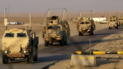 ISIS attacks US base in Iraq