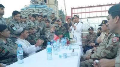 Pakistan-Afghanistan Armies hold Flag meeting at Chaman border
