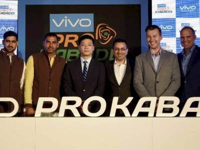 Indian Kabaddi league inks multi-million dollar deal with Chinese Company