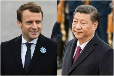 Xi Jinping pledges to protect Paris Agreement in call with Macron