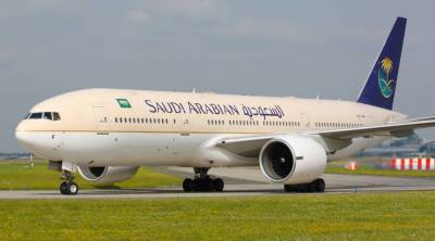 Saudi Airline hit by bomb threat