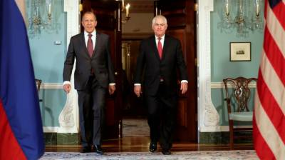 Tillerson calls on Russian Foreign Minister
