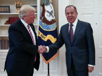 Trump describes meeting with Russian FM as 'very, very good'