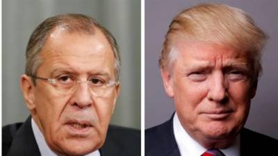 Trump to meet Russia's top diplomat Lavrov on Wednesday