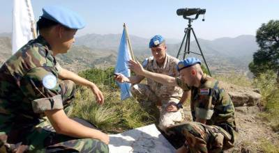 Indian Army hits UN Military Observers officers across LoC in Pakistan