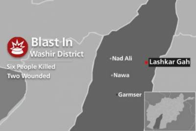 Suicide blast targeting Afghan spy agency NDS office in Helmand