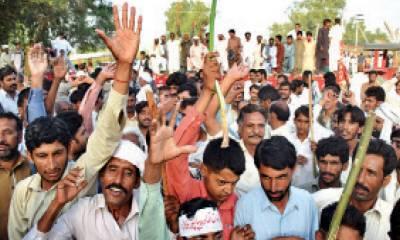 Islamabad Police cracks down against Kissan Itehad on D Chowk