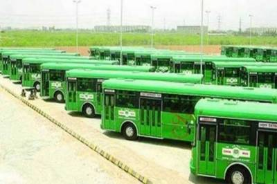 Green Line Bus Project in Karachi completion status update