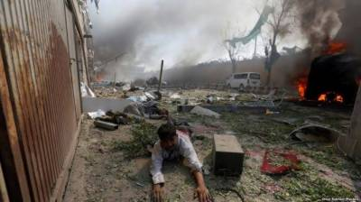 Afghan Taliban strongly condemn Kabul bomb blast attacking civilians