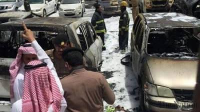 Car Bomb blast in Saudi Arabia