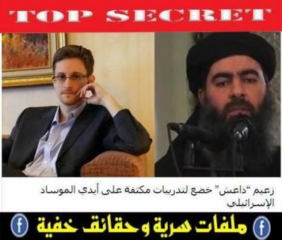 Hornet's Nest: US-Israel created ISIS, reveals Edward Snowden