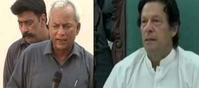 Imran Khan wants Nehal Hashmi behind bars for threatening Judges families