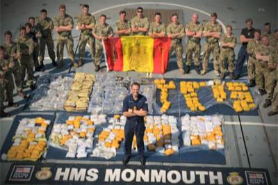 Indian drugs boat seized linked with terrorist organisation funding