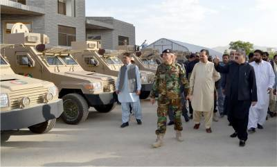 Balochistan Law Enforcement gets Armoured Vehicles