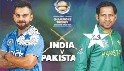 Pakistan Vs India match scorecard