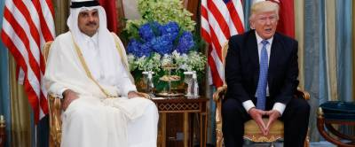 Donald Trump sides with Saudi Arabia to isolate Qatar, home to largest US base in region